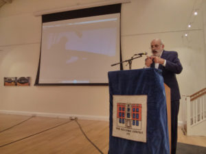 Elias Kulukundis speaking at The Hellenic Centre